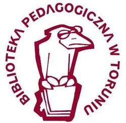 Biblioteka Pedagogiczna im. gen. bryg. prof. Elżbiety Zawackiejw Toruniu. Logo