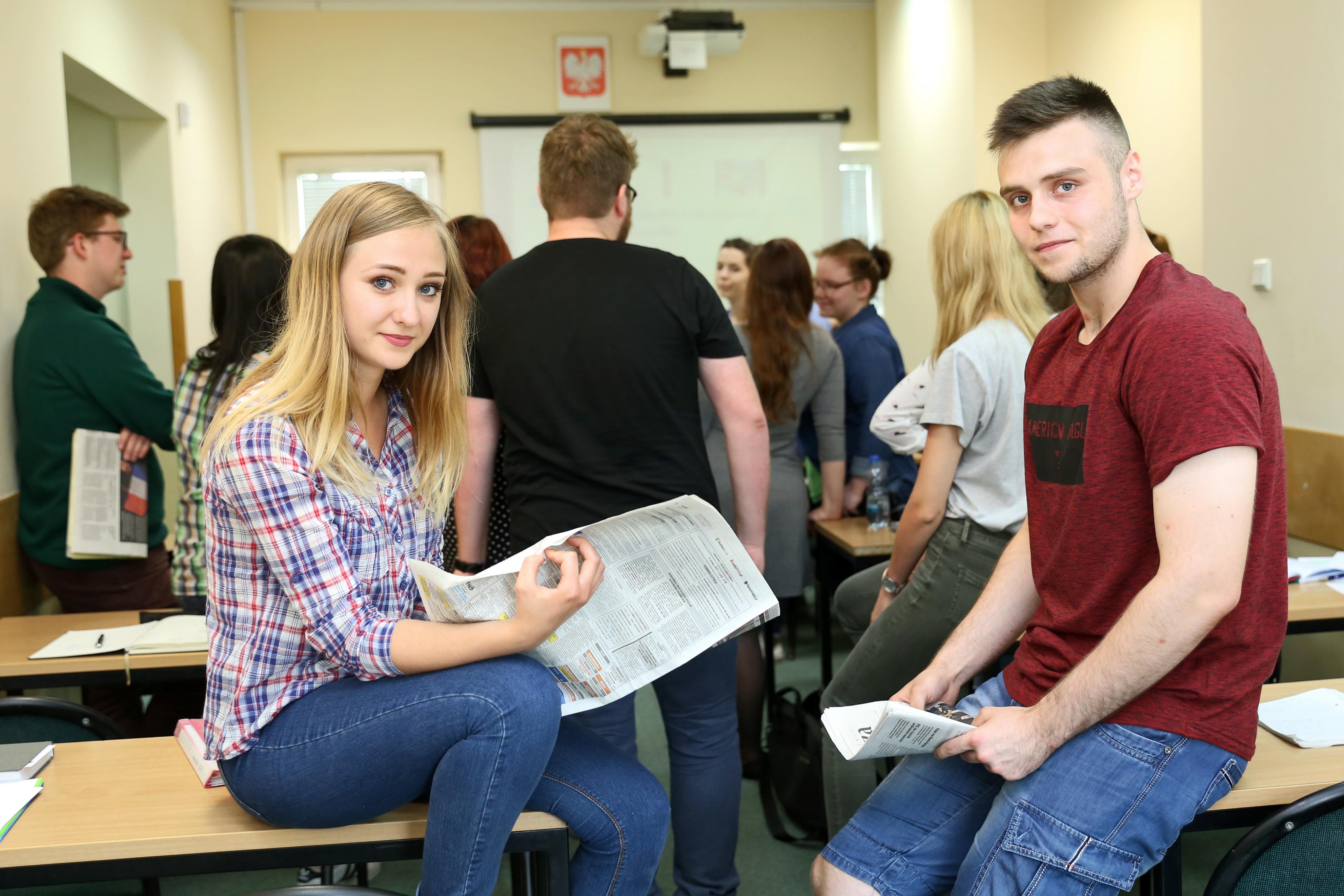 studenci WPiSM