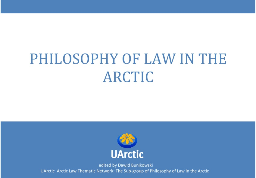 philosophy of law in the arctic