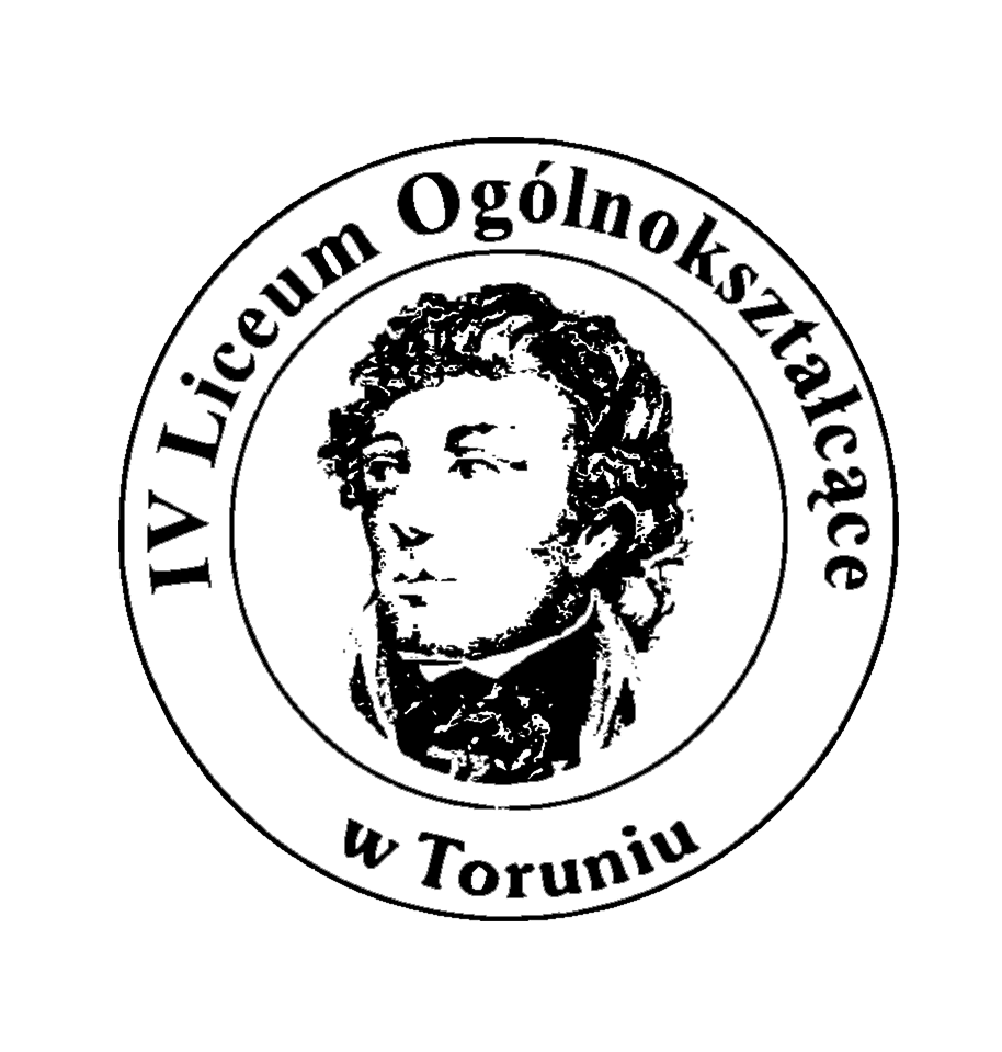 IV Liceum Ogólnokształcące im. Tadeusza Kościuszki w Toruniu. Logo