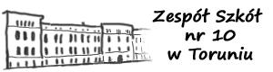 Zespół Szkół nr 10 w Toruniu. Logo